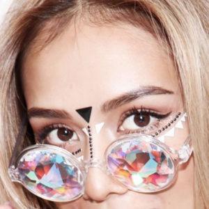 Accessories - Sunglasses Kaleidoscope Rainbow Prism glasses